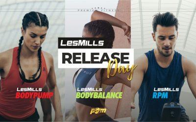 LesMills® Release Day am 04. Oktober 2020
